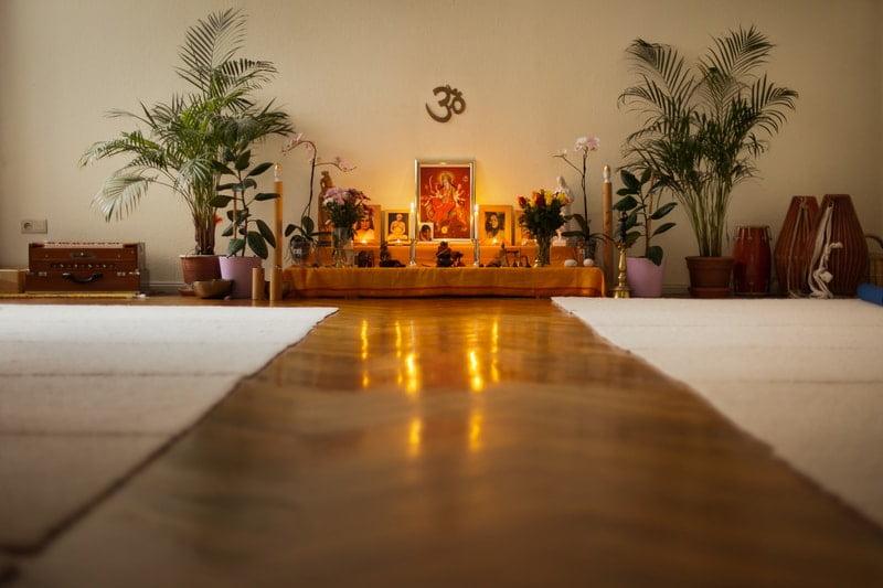 Altar im Übungsraum