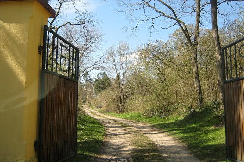 Der Weg zum Eichhof